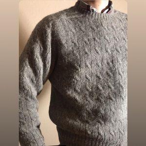 Vintage Ralph Lauren Alpaca Cable Knit Sweater